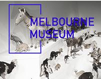 Melbourne Museum Parallax Website