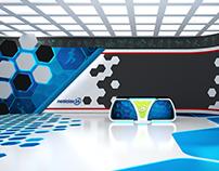 Deportes24 - Virtual Set