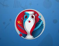 Euro 2016 Logo Animation