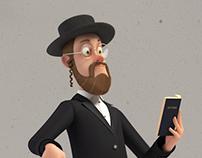 Hasidic Jewish Man