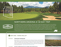 AOT Northern Arizona Travel Itinerary
