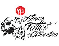 Athens Tattoo Convention Logo Concept