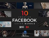 10 Facebook Timeline Cover Bundle