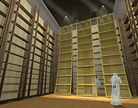 The cube / Library research