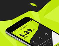 Spark for Runners - iOS App UI Design