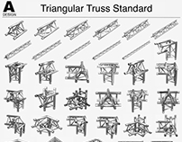 Triangular Truss Standart 008