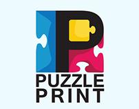 Puzzle Print Logo