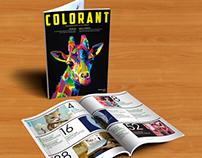 Colorant Magazine Design