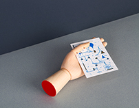 Machine series greeting cards