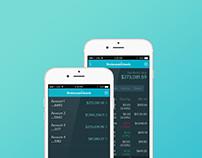 App UX/UI Design - Investor Mobile