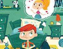 """Children's book """"Sei folletti tra le righe"""""""