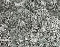 Homage illustrations