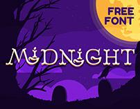 Midnight - FREE DISPLAY FONT