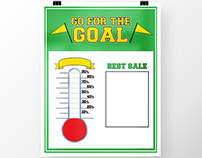 Poster Design: Go For The Goal