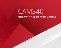 AVer CAM340 Huddle Room Camera Webpage