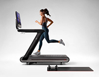 Peloton Treadmill - Product Launch Renderings