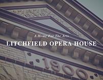 Litchfield Opera House: Logo+Web Design