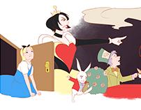 Google Doodle - Alice in Wonderland