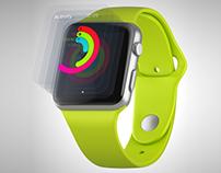 [free] Apple Watch animation mockup