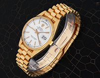 ROLEX DAY-DATE PRESIDENT - GOLD