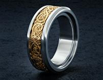 Dragon's Breath Ring - 3D Model