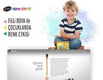 Filli Boya Renk Etkisi Website