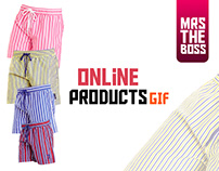 Online Products Animated Banner Ads