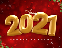 Social Media - Natal e Ano Novo 2020