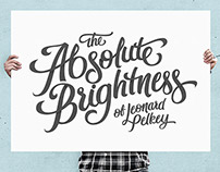 Logo for The Absolute Brightness of Leonard Pelkey