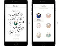 Cartier Amulette - Mobile Campaign