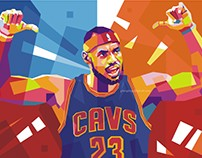 Lebron James in WPAP