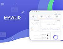 Mawlid | Blog Manager app UX/UI Design in Arabic