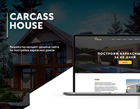 Frame house landing page