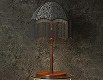 Interior scene - lamp