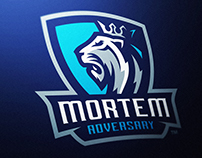 Mortem Lion Crest Logo Project