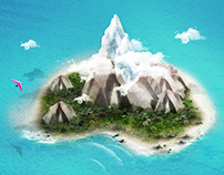 island concept art