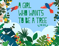 A girl who wants to be a trees / Cao Giang