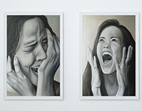 EMOTIONS series of paintings - Annex to master thesis