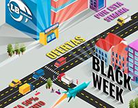 Black Week LB Technology, Redes Sociales