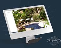 La Villa Luz - website