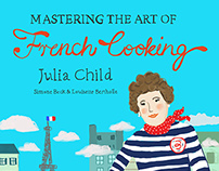 Mastering the Art of French Cooking Cover Redesign