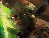 Master Yoda low poly