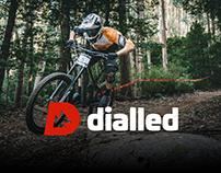 dialled Logo design