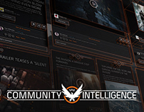 Community Intelligence - The Division game