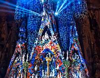 Projection Show: Sagrada Familia