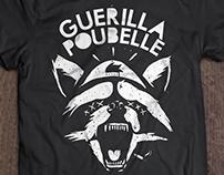 T-shirt pour Guerilla Poubelle / Raccoon