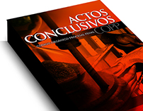 Portada Libro ACTOS CONCLUSIVOS