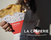 Branding - La Crêperie - Crepes Franceses