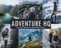 Free Adventure HQ Mobile & Desktop Lightroom Preset