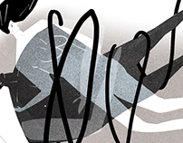 Illustration for Svet a divadla magazine